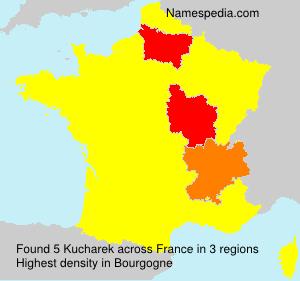 Surname Kucharek in France