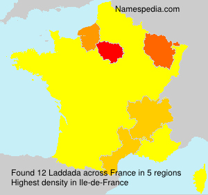 Surname Laddada in France