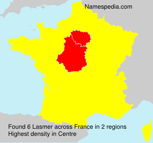 Surname Lasmer in France