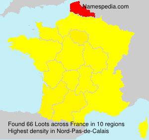 Surname Loots in France