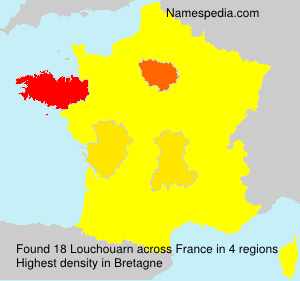 Surname Louchouarn in France