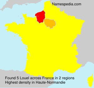 Surname Louel in France