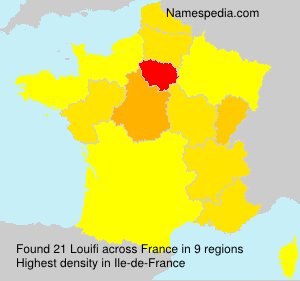 Surname Louifi in France
