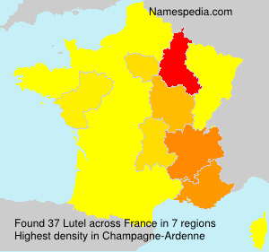 Surname Lutel in France