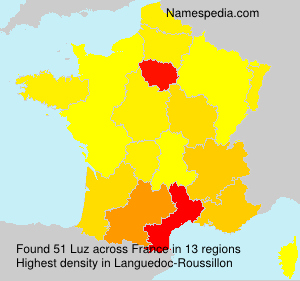 Surname Luz in France