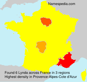 Surname Lynda in France