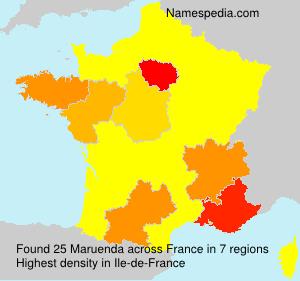 Maruenda - Names Encyclopedia