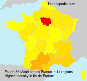 Surname Masri in France