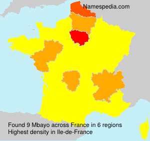 Surname Mbayo in France