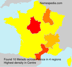Surname Melado in France