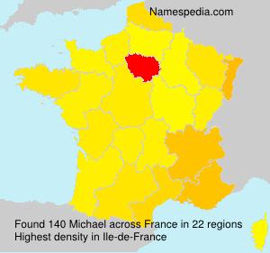 Familiennamen Michael - France