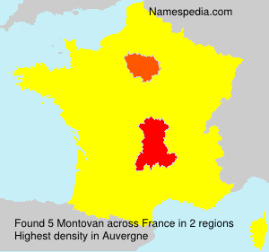 Montovan - Names Encyclopedia