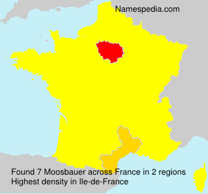 Surname Moosbauer in France