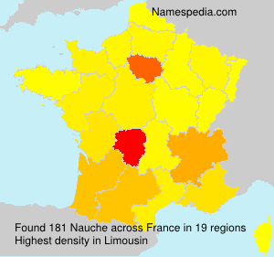 Surname Nauche in France