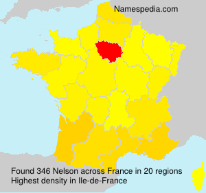 Surname Nelson in France
