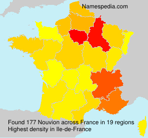 Surname Nouvion in France