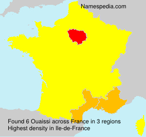 Surname Ouaissi in France