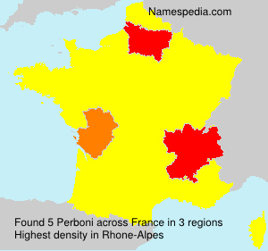 Surname Perboni in France