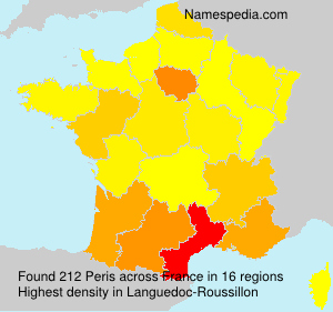 Surname Peris in France