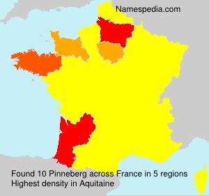 Familiennamen Pinneberg - France