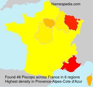 Surname Piscopo in France