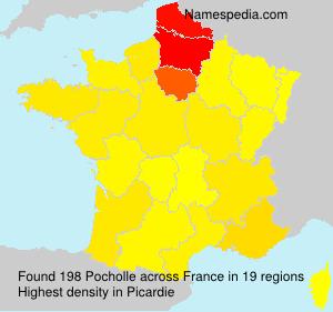 Surname Pocholle in France