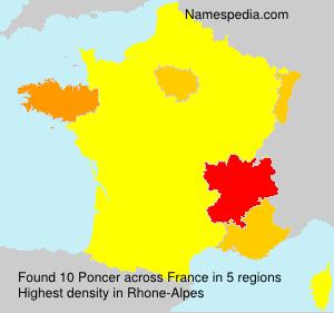 Poncer