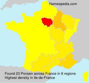 Ponsen - France
