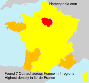 Surname Quinaut in France