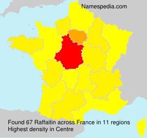 Surname Raffaitin in France