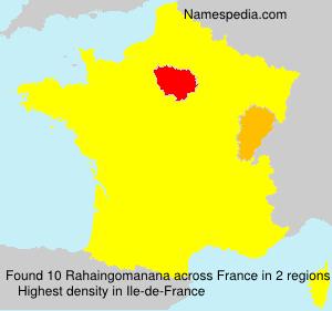 Rahaingomanana