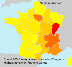 Surname Ramey in France