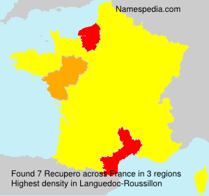Surname Recupero in France