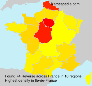 Surname Reverse in France