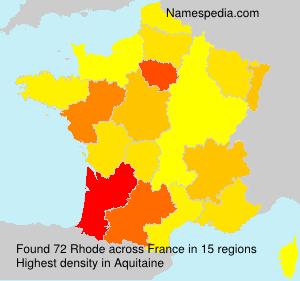 Rhode - France