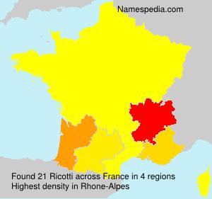 Ricotti - France