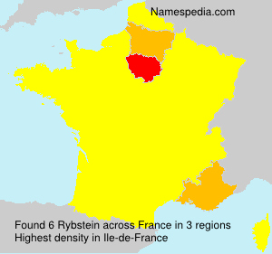 Surname Rybstein in France