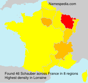 Surname Schauber in France