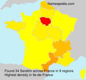 Surname Serafim in France