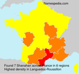 Surname Shanahan in France