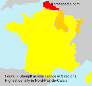 Surname Stampfl in France