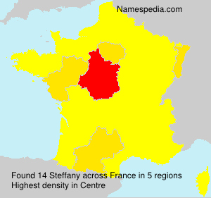 Surname Steffany in France
