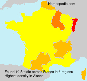 Surname Steidle in France