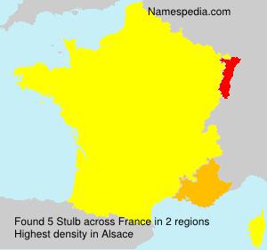 Surname Stulb in France