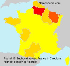Familiennamen Suchocki - France