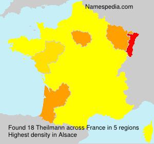Familiennamen Theilmann - France