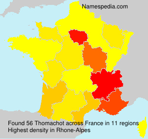 Surname Thomachot in France