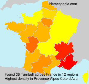 Surname Turnbull in France