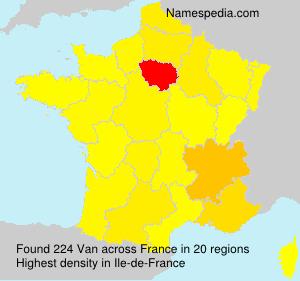 Van - France