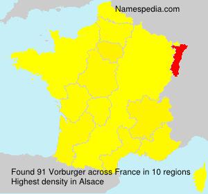 Vorburger - France